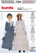 2768 Burda Pattern: Misses' Historical Costumes